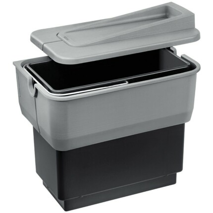 BLANCO SELECT SINGOLO hulladéktároló - fekete