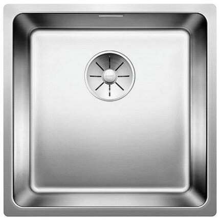 BLANCOANDANO 400-U 18/10 mosogatótál - selyemfényű