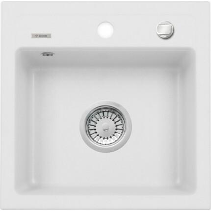 DEANTE ZORBA ZQZA103 gránit mosogatótál - Fehér