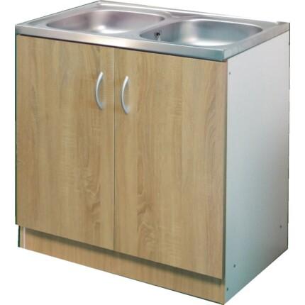 ECO-NOVA mosogatós szekrény 2M - tölgy