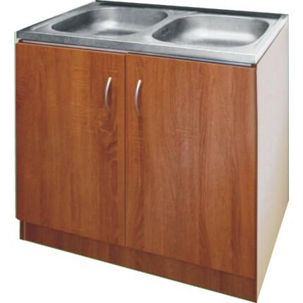 ECO-NOVA mosogatós szekrény 2M - sötét tölgy