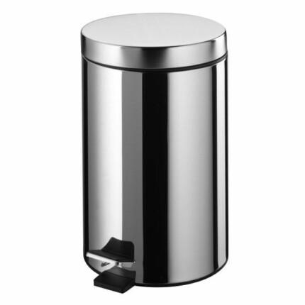 Bisk-Basic króm 5L fürdőszobai szemetes