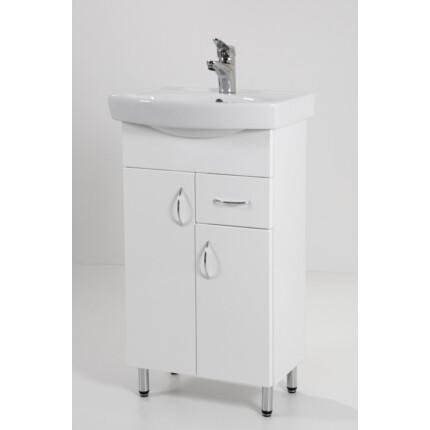 Standard 50F mosdós fürdőszoba szekrény