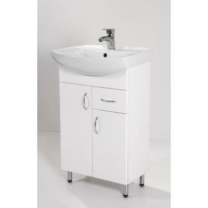 Standard 55F mosdós fürdőszoba szekrény
