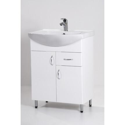 Standard 65F mosdós fürdőszoba szekrény