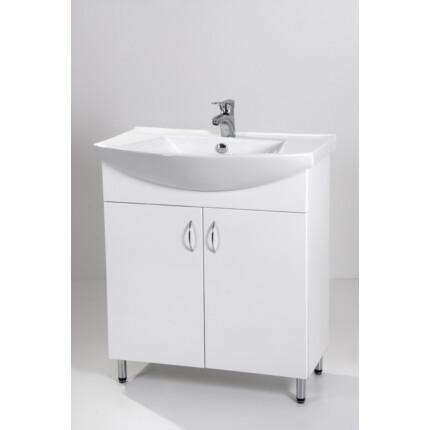Standard 75 mosdós fürdőszoba szekrény