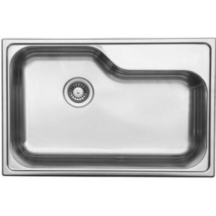 Kevmil KM DXT-780 Extra mély óriás egymedencés rozsdamentes mosogató