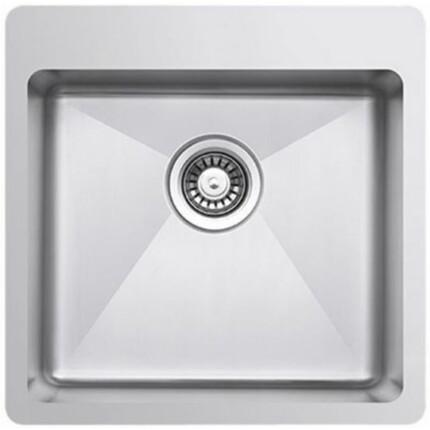 Kevmil MEP 500.500 Exkluzív design extra mély egymedencés rozsdamentes mosogató