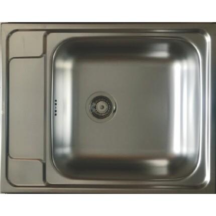 Kevmil KM-50x63 egymedencés rozsdamentes mosogató