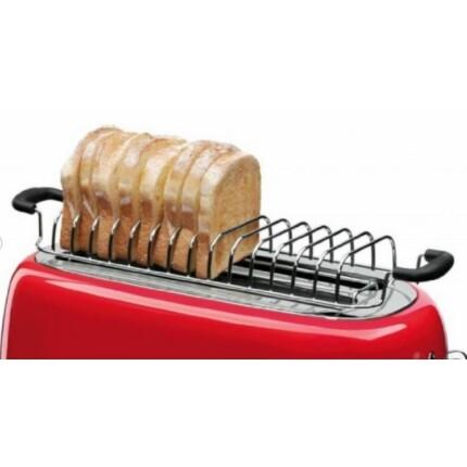 SMEG Retro 4 szeletes kenyérpirítóhoz kenyér és zsemle melegítő