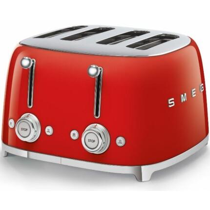 SMEG Retro design kenyérpirító 4x1 szeletes    7 színben