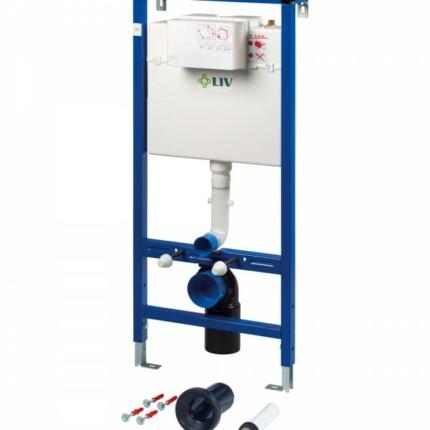 Liv-Fix 9012 beépíthető WC öblítőtatály (szárazépítésü)