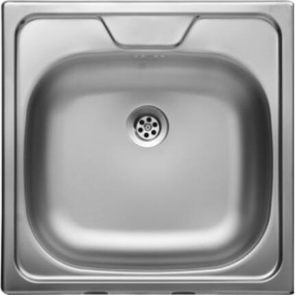 Rozsdamentes panel mosogató 1.5 - szövetmintás