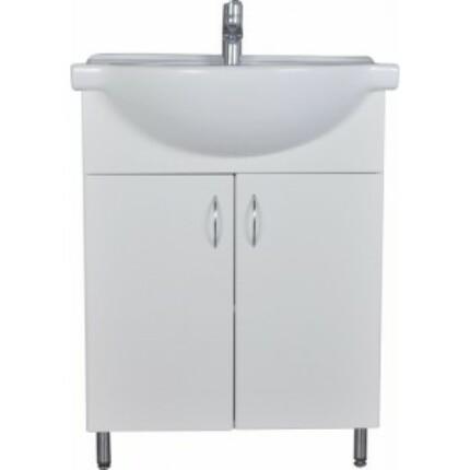 Standard 55 mosdós fürdőszoba szekrény