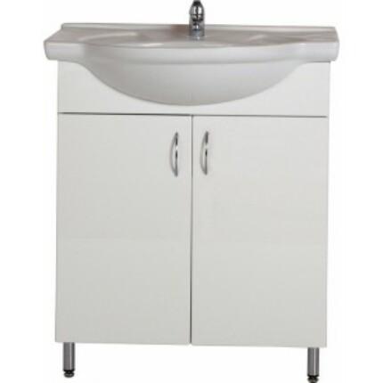 Standard 65 mosdós fürdőszoba szekrény
