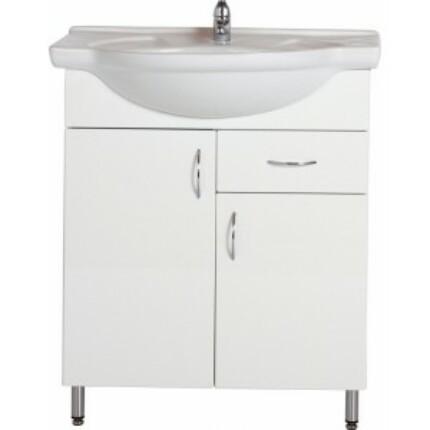 Standard 75F mosdós fürdőszoba szekrény