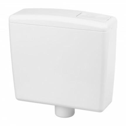 Klasik falsík előtti wc öblítőtartály takarék leállítógombbal