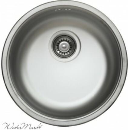Kevmil KM-45/17 kör alakú egymedencés rozsdamentes mosogató