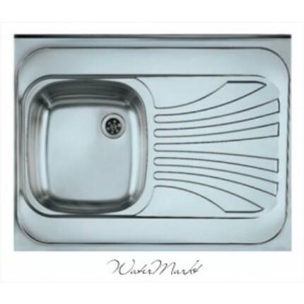 ALVEUS CLASSIC-30 Teletetős egymedence csepptálcás  rozsdamentes mosogató - Medence bal kézre essen