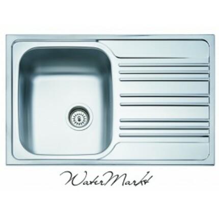 Kevmil KM-50x78 egymedencés csepptálcás rozsdamentes mosogató