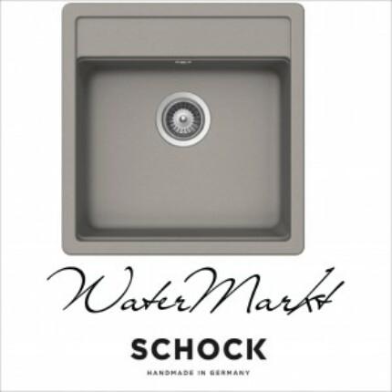 SCHOCK NEMO CRISTALITE N-100S egymedencés prémium mosogató - Beton - (42)
