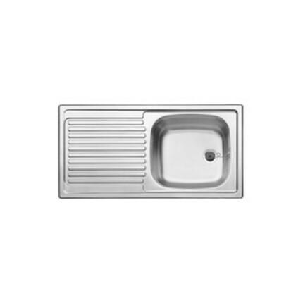 BLANCOTOP EES 8X4 18/10 mosogatótál - natúr