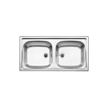 BLANCOTOP EZ 8X4 18/10 mosogatótál - natúr