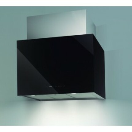 Nodor CUBE GLASS 700 BK fali páraelszívó