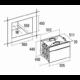 NODOR D 5008 DT WH beépíthető készülék